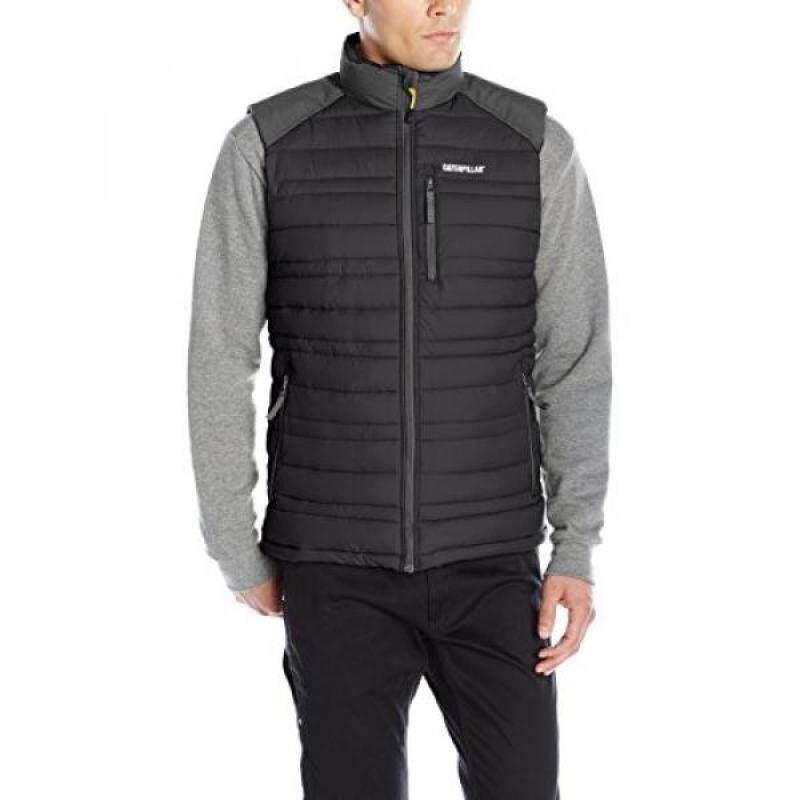 Caterpillar Defender Insulated Vest, Black,