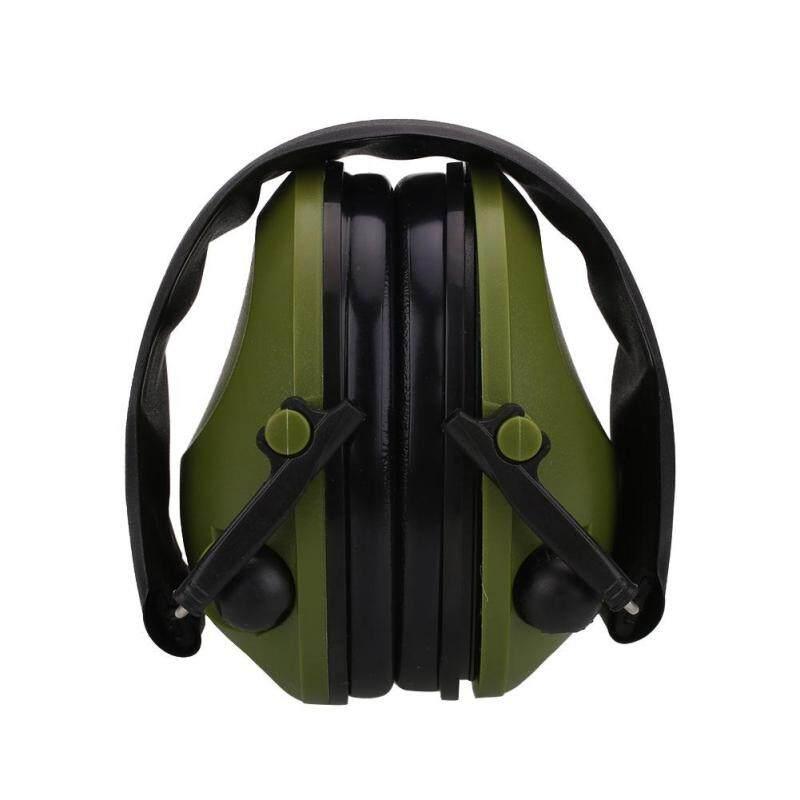 Catree-Tactical Anti-Noise Impact Electronic Earmuff Fold Ear Protection Earmuffs 21SNR
