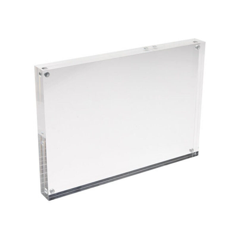 Clear Acrylic Sign Holder with Magnets