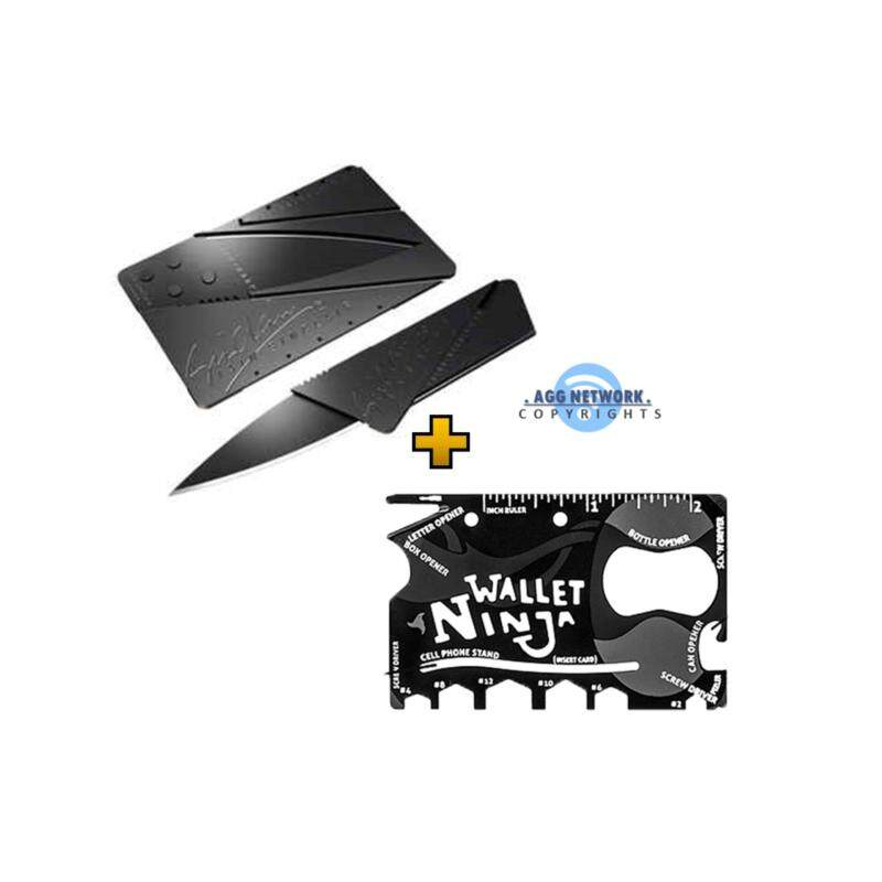 Buy Combo Shinobi CardSharp + Wallet Ninja Multi-Purpose Portable ( Credit Card Size ) Malaysia