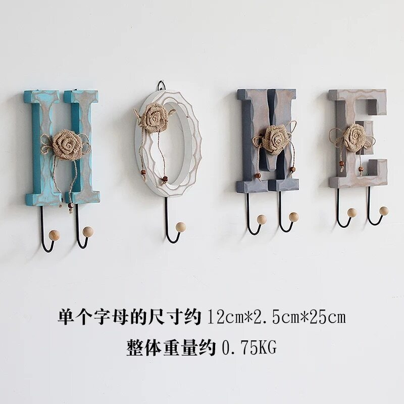 Buy Country door entrance test room wall hanging clothes hook Malaysia