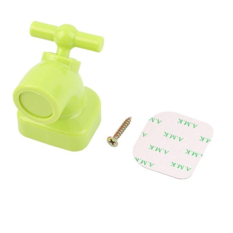 Creative Mini Cute Faucet Strong Magnet Key Holder - Green