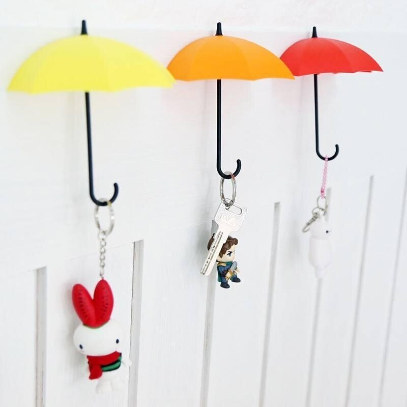 Buy Creative Wall Hook Hanger Organizer hook 3pcs Umbrella Wall Mount Key Holder Malaysia