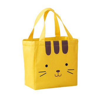 Harga Cute canvas student insulation lunch bag lunch boxes