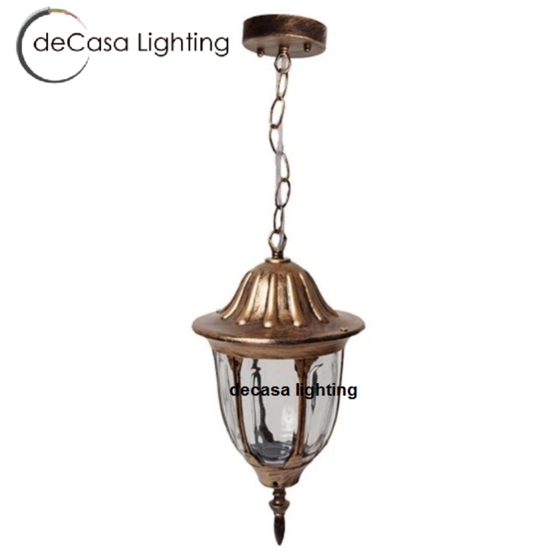 Buy DECASA Antique Outdoor Pendant Best Seller Light