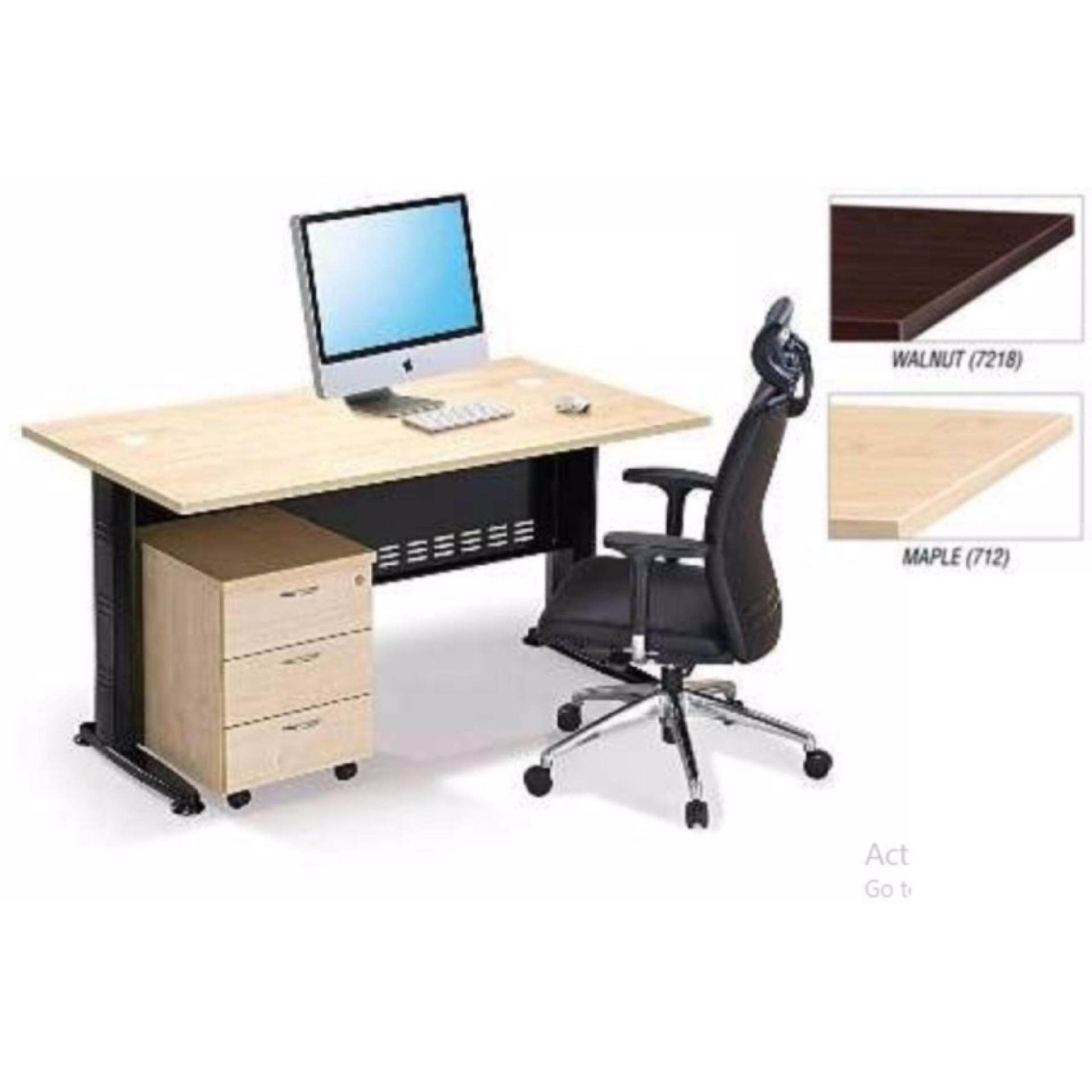 office meeting. DECO OFFICE TABLE WITH MOBILE DRAWERS DESK MEETING DISCUSSION WRITING STUDY Office Meeting