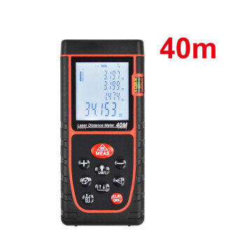 Harga DEKO 40m Digital Laser distance meter Rangefinder Range finder Tape Measure Area/volume tool