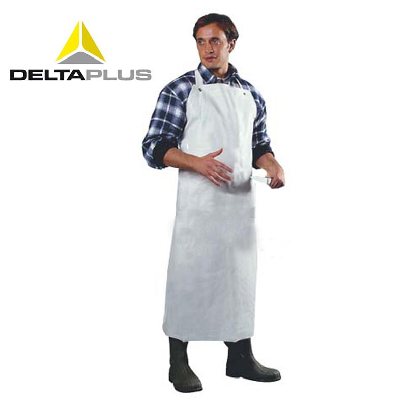 Deltaplus 405035 protective clothing PVC apron chemical warfare apron-acid waterproof clothes
