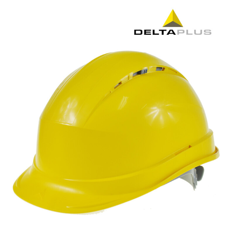 Buy Deltaplus site safety cap labor building power electrical work helmet anti-smashing work cap breathable engineering hat Malaysia