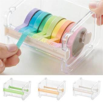 Desktop Tape Dispenser Tape Cutter Washi Tape Dispenser Roll TapeHolder Green