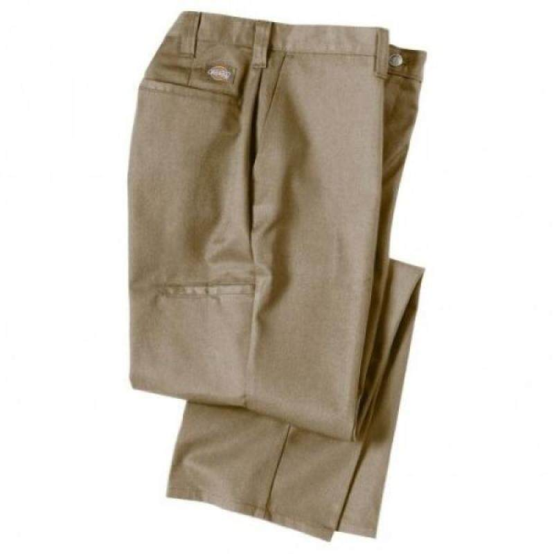 Dickies Occupational Workwear 2112272DS 42x34 Polyester/ Cotton Relaxed Fit Mens Premium Industrial Multi-Use Pocket Pant with Straight Leg, 42 Waist Size, 34 Inseam, Desert Sand