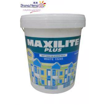 Dulux 18l maxilite plus white 15245 lazada malaysia Oil based exterior paint brands