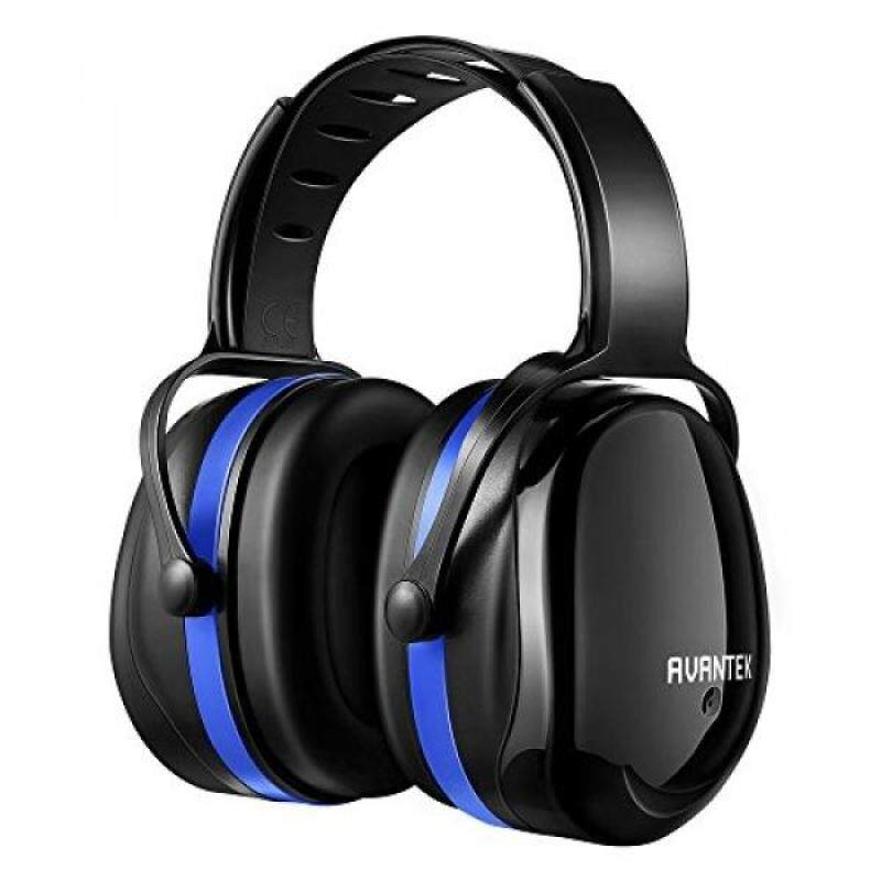 Buy Ear Protection, AVANTEK 34dB Shooting Hearing Protection Safety Ear Muffs with a Twist Resistant Headband Malaysia