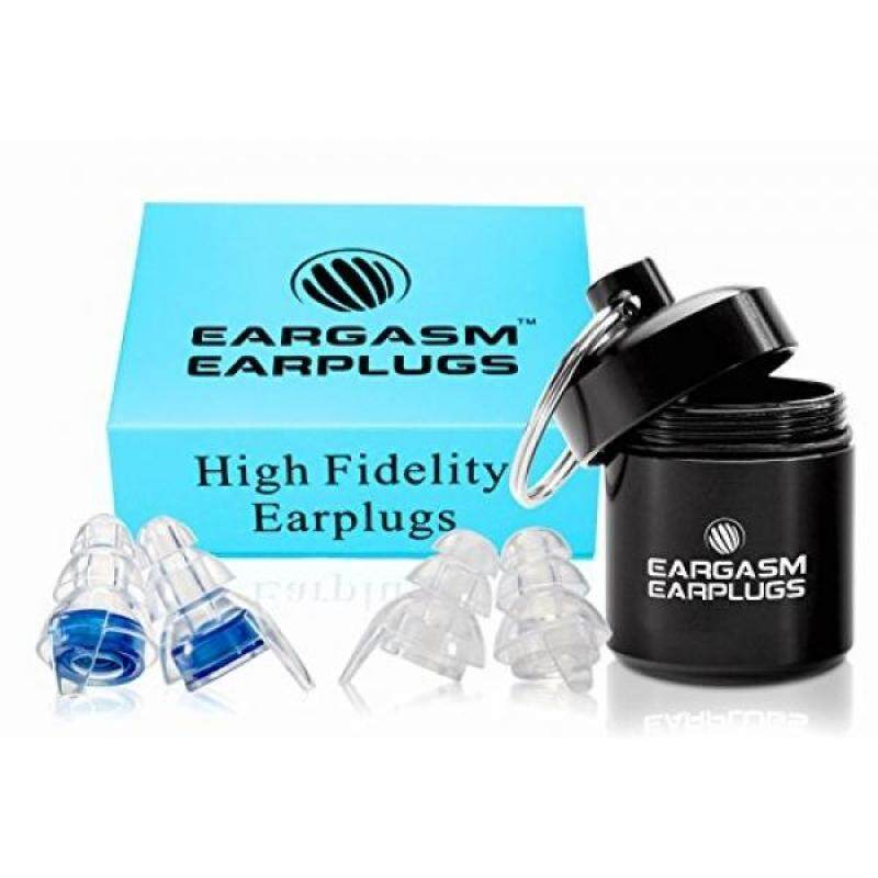 Buy Eargasm High Fidelity Earplugs for Concerts Musicians Motorcycles Noise Sensitivity Conditions and More (Ear Plugs Come in Premium Gift Box Packaging) - Blue Malaysia