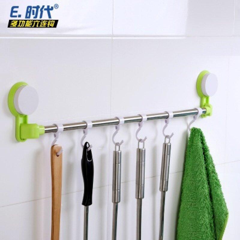 Easy era kitchen bathroom towel rack six even row