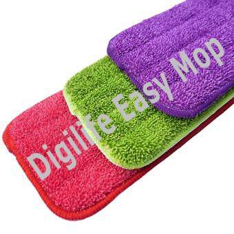 Easy Floor Cleaning Spray Mop with 2pcs Microfiber Cloth (Purple)