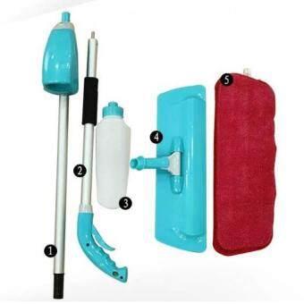 Easy Mop Washable Microfiber Spray Mop (Blue) + 1 extra pad - 3