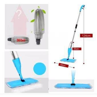 Easy Spray Mop with Microfiber Mop Cloth (06) Blue