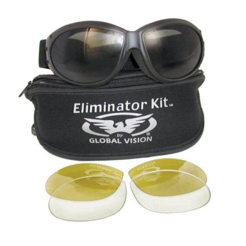 Eliminator Global Vision Kit #2 (3 Lenses - Smoke, Clear & Yellow Tint)