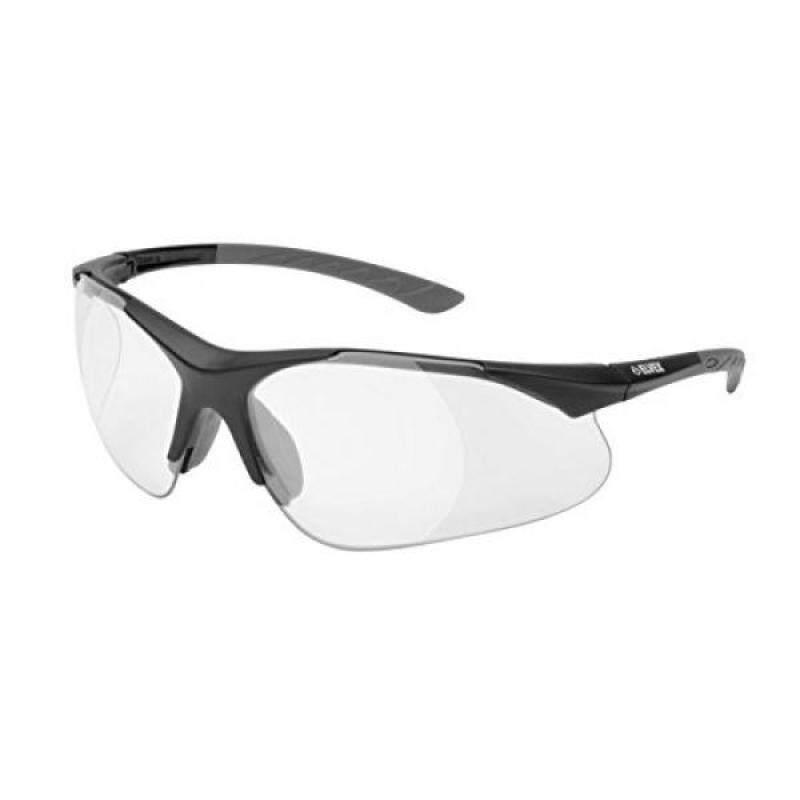Elvex RX-500C-1.0 Full Lens Magnifier, Black Frame /Grey Temple Tips
