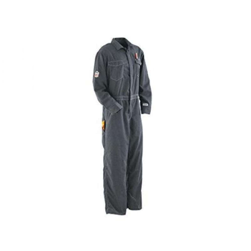 Buy Ergodyne CORE Performance Work Wear 7490X Outer Layer FR Unlined Coverall, Gray, 54T Malaysia