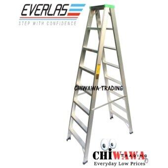 Everlas Ds10 10 Steps Double Sided Aluminium Ladder 2490mm