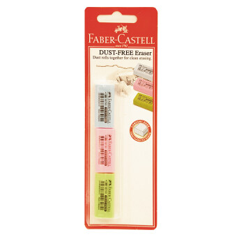Harga FABER-CASTELL DUST FREE ERASER - PASTEL COLOUR