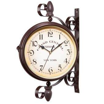 Fangfang  8 Inch Classical Royal Rotatable Double-sided Vintage Wall Clock (Number)