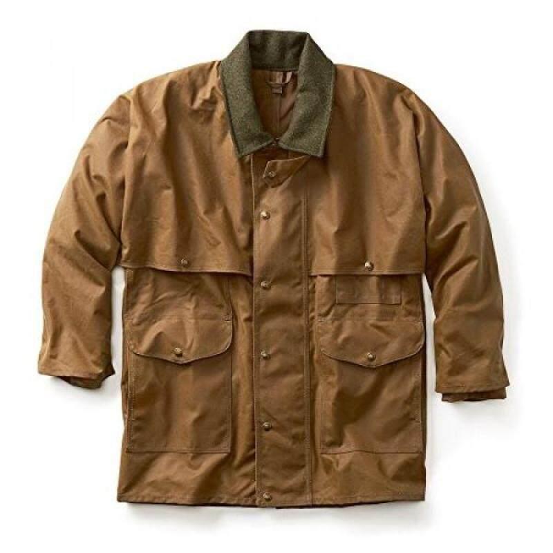 Filson 10002 Extra Long Tin Cloth Packer Coat - Tan