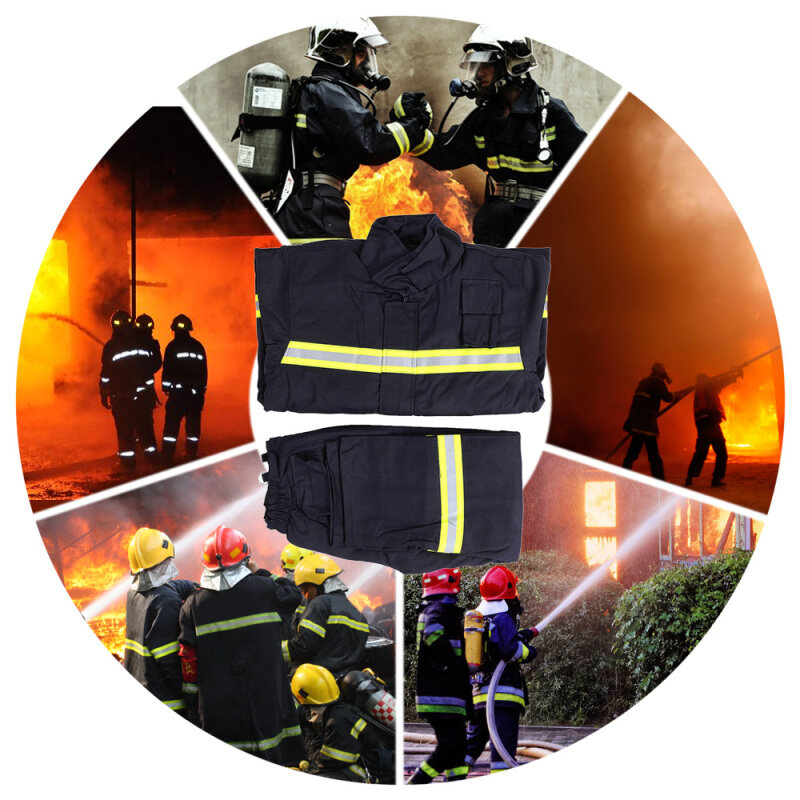 Buy Flame Retardant Clothing Fire Resistant Clothes Fireproof Waterproof Heatproof Fire Fighting Equipment Malaysia