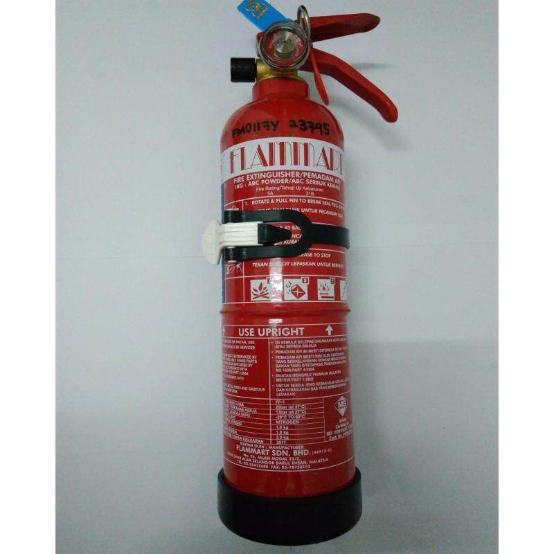 Buy Flammart 1kg ABC Dry Powder Fire Extinguisher (SIRIM Approved) suitable for vehicles and household Malaysia