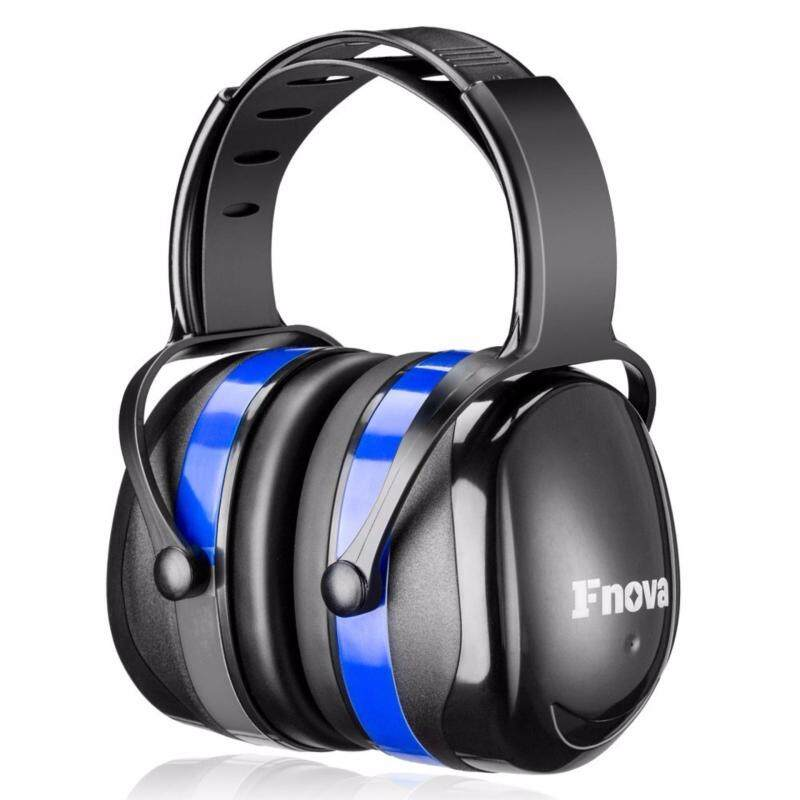 Buy Fnova 2.0 Version 34dB Highest NRR Safety Ear Muffs, Flexi Twist Headband for Durable and Comfortable Fit,Ear Protection / Shooting Hearing Protector Earmuffs Fits Adults to Kids (Blue New) Malaysia