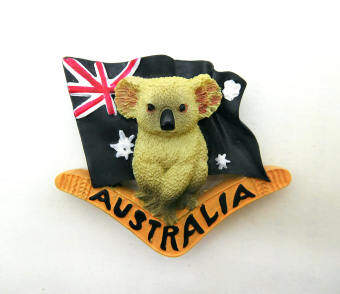 Harga Foreign Trade Australia travel souvenir refrigerator stickers flagkoala stereo fridge magnet Australia magnetic stickers