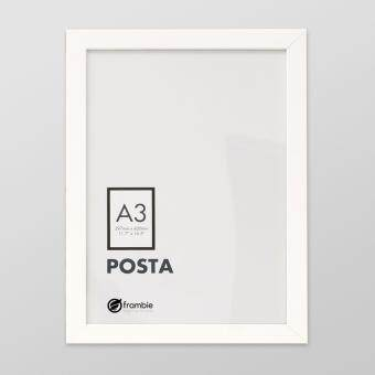 frambie posta white poster frame a3 size picture frame - White Poster Frame