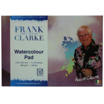 Harga Frank Clarke Watercolour Pad 300g/m (179x254mm) 7x10 inches B5 Size10 Sheets