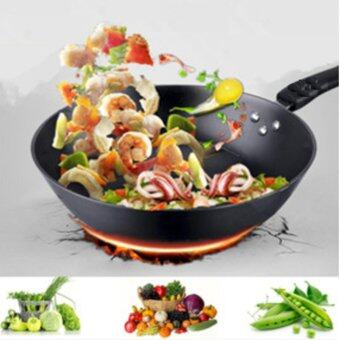 Freemarket 32cm High Quality Smooth Surface Extra Non-Stick Star Frying Cooking Wok Pan