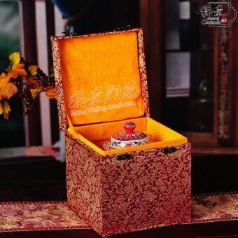 Fu King Chinese living room ceramic bedroom furnishings Storage Tank