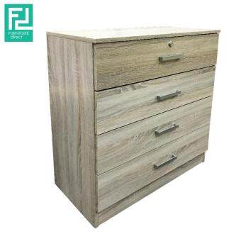 Harga Furniture Direct LIBERTY 4 drawer chest with key lock
