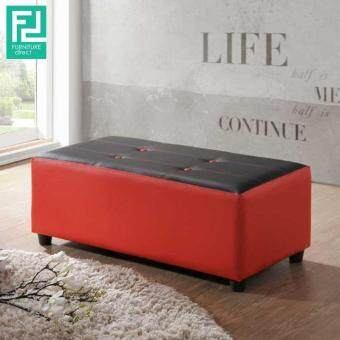 Harga Furniture Direct TAMI Bench stool/ chair/ sofa/ red&black