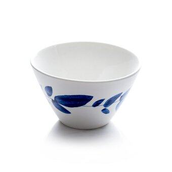 Gourmet Kitchen European ceramic with pattern small household rice bowl