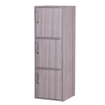 GRAND DECOR Utility Shelf with Locks / Office Utility Cabinet / Storage Cabinet / Storage Compartment 3in1