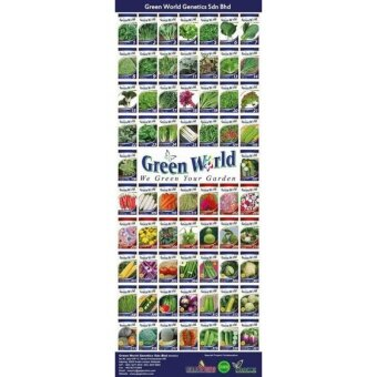 Harga Green World Seeds (5 types of seeds - WG-005, WG-006, GW-007,GW-108 & GW-318 )