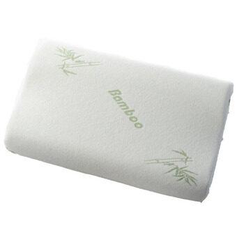 hangqiao luxury memory foam pillow bamboo fiber head support pillow white