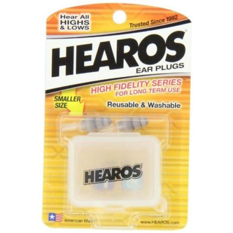 Buy HEAROS High Fidelity Series Ear Plugs for Comfortable Long Term Use with Free Case, 1 Pair Malaysia