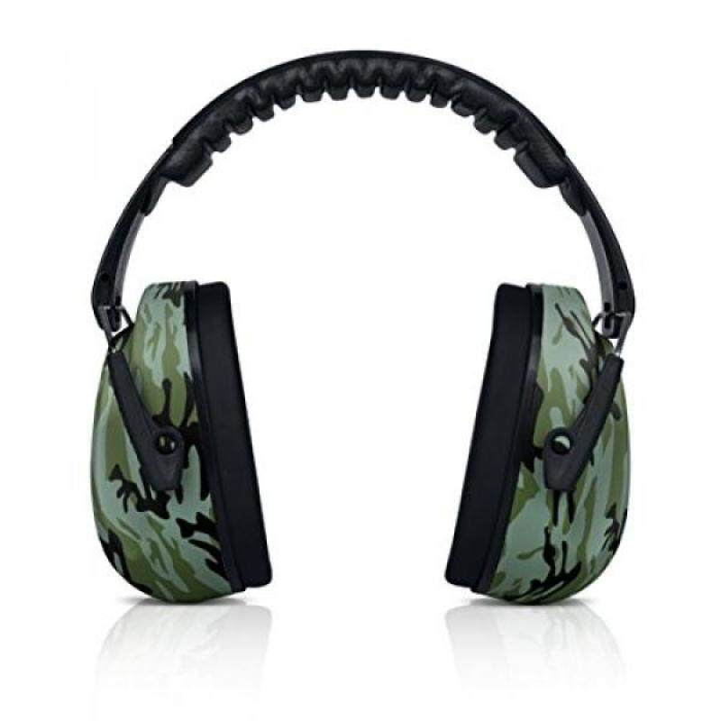 Buy HearTek Kids Earmuffs Hearing Protection with Travel Bag- Junior Ear Defenders For Children, Padded Ear Protection, Small Adults, Women - Adjustable Protector Noise Reduction Ear Muffs - Camo Malaysia