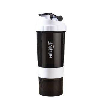 HeleMEI 500ml Smart Shake Gym Protein Shaker Sports Bottle - 2