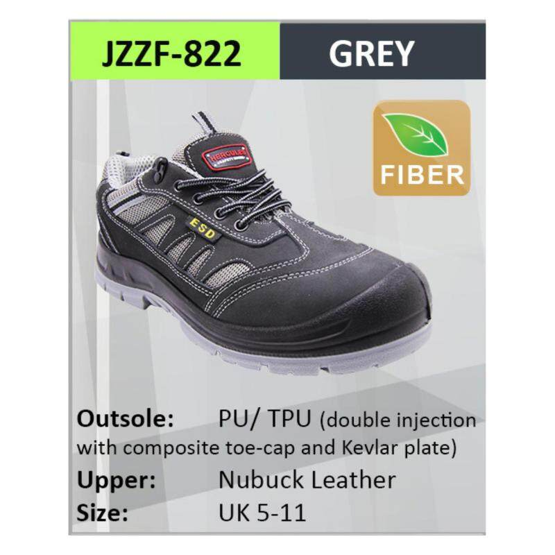 Buy Hercules Safety Shoes Steel Shoes Men Boot SKU-822 Sizes 7 Malaysia