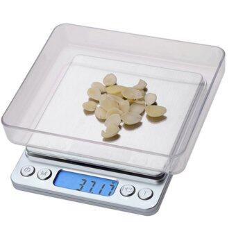 High - Precision Electronic Scales 3000g x 0.1g Stainless SteelKitchen Scale Mini Pocket Jewelry Scales Coffee Scales -Sliver