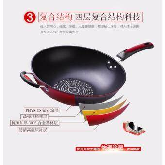 High Quality Non-Stick Star Frying Cooking Wok Pan 32cm