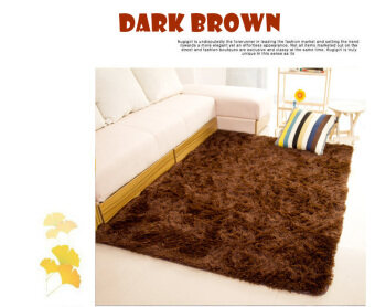 High Quality Premium Living Room Carpet 160x200 CM DARK BROWN